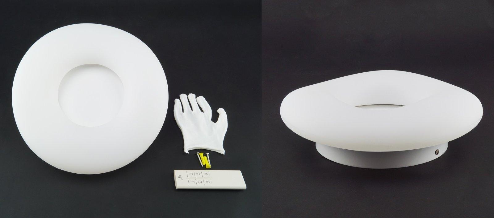 Kör vagy négyzet alakú, de egyenetlen felületű a VTAC LED designer sorozat tagjainak burája.