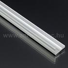 Image of Aluminium L profil LED szalaghoz 16x10 mm (ezüst)